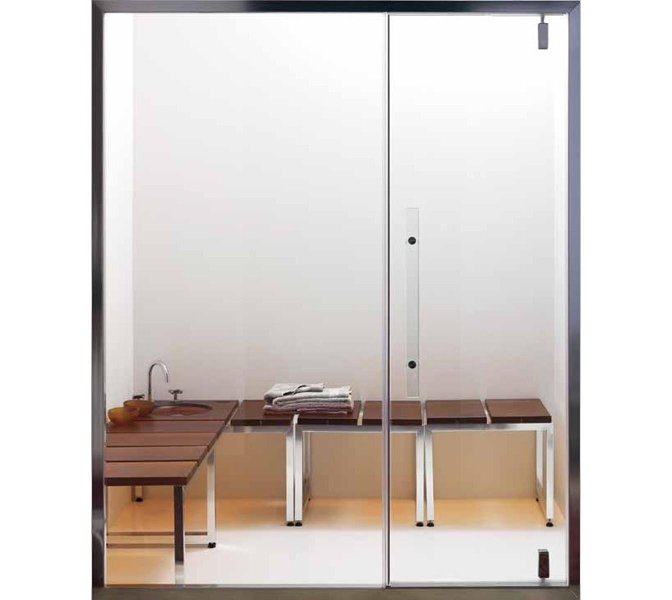 puertas para baos de y paredes de vidrio para baos turcos u effegibi puertas para baos de vapor