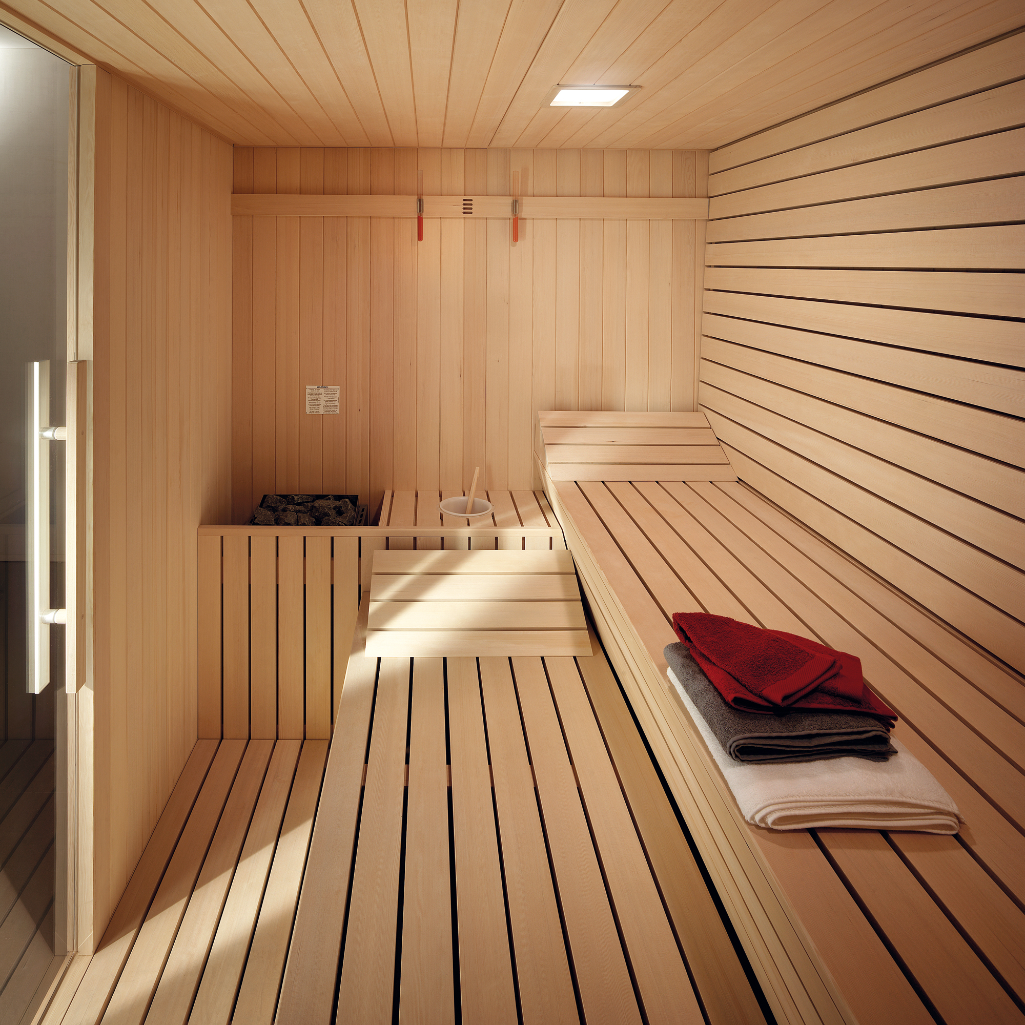 Sauna gym effegibi - Que es una sauna ...